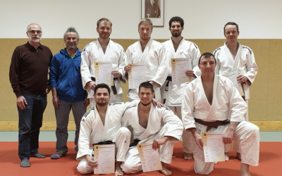 Judo Dan-Prüfung am 08.12.2019
