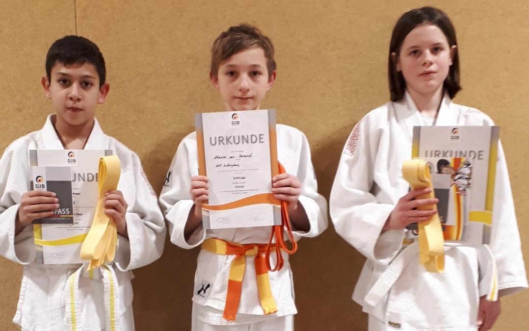 Judo Kyu-Prüfung am 30.10.2020